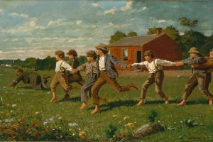 Crack the Whip–How a Child's Playground Activity Speaks to Our Times